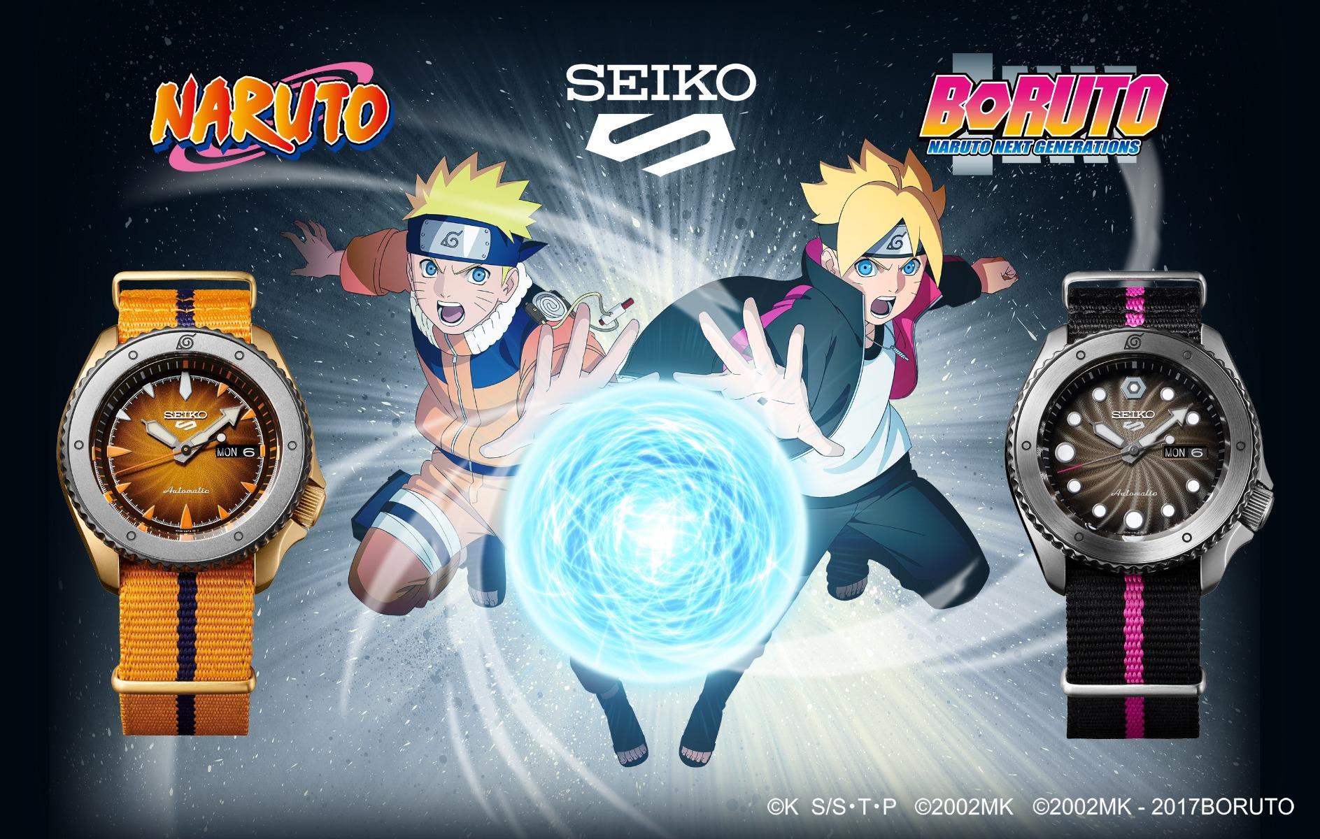 Seiko 5 Sports meets NARUTO & BORUTO.